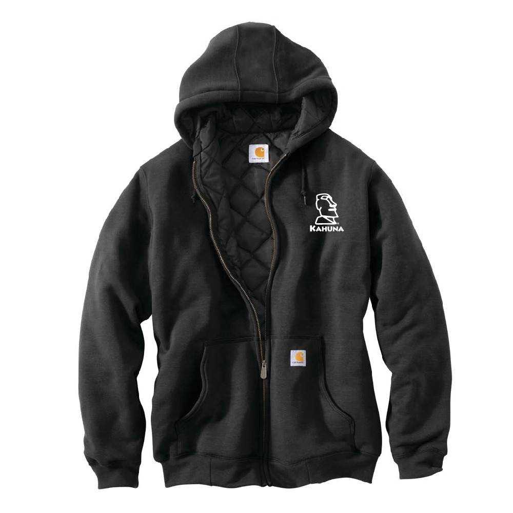 Carhartt Carhartt Rain Defender 3 Season Midweight Sweatshirt (Black w/white logo)