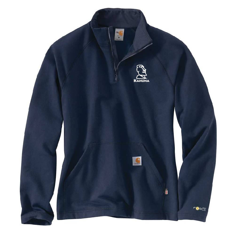 Carhartt Carhartt FR Force Fleece Quarter-Zip (Dark Navy)