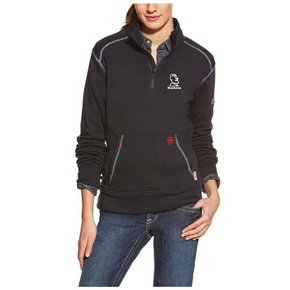 Ariat Ariat Ladies Fr Polartec 1/4 Zip Fleece ( Navy)
