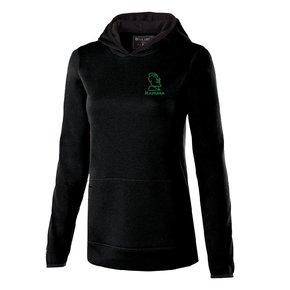 Holloway Holloway Ladies Artillery Hoodie (Black w/green logo)