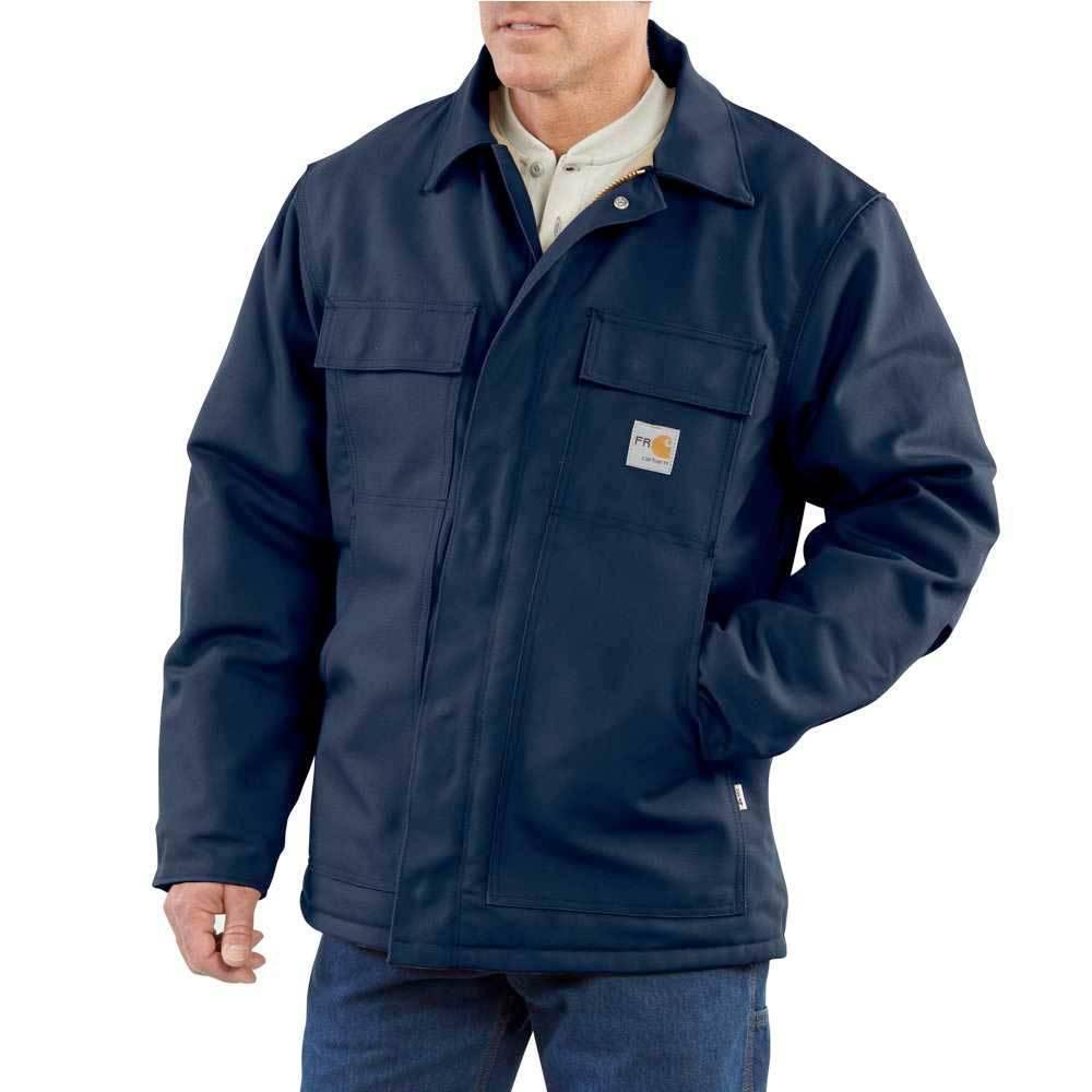 Carhartt Carhartt FR Duck Traditional Coat (Navy)