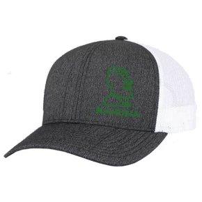 Pacific Heather Trucker Mesh Hat (Black Heather/White)