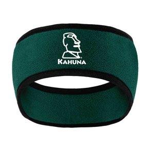 Port Authority Two-Color Fleece Headband ( Dark Green)