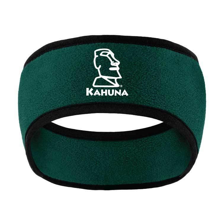 Port Authority Port Authority Two-Color Fleece Headband ( Dark Green)