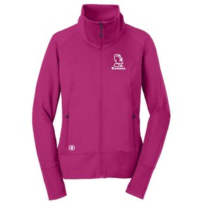 OGIO® ENDURANCE Ladies Fulcrum Full-Zip ( Pink )