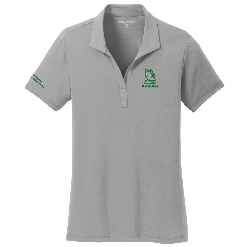 Port Authority Port Authority® Ladies Cotton Touch Performance Polo ( Frost Grey )