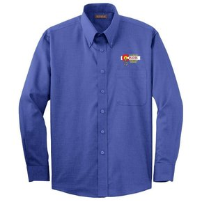 Red House Red House Men's Button Up Shirt (Mediterrian Blue)
