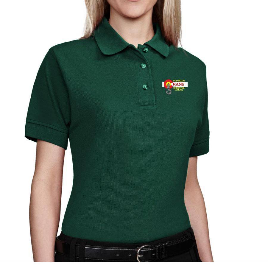 Tri Mountain Tri Mountain Ladies Artisan Polo (Forest Green)