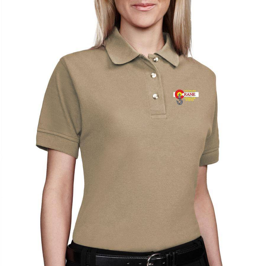 Tri Mountain Tri Mountain Ladies Artisan Polo (Khaki)