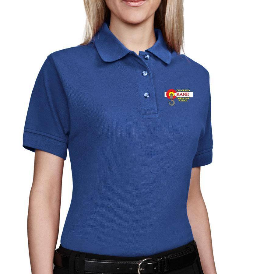 Tri Mountain Tri Mountain Ladies Artisan Polo (Royal)