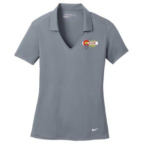 Nike Nike Golf Ladies Dri-Fit Polo (Cool Grey)