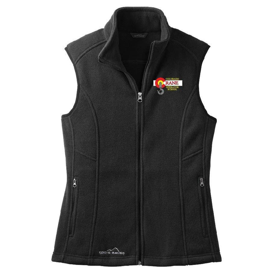 Eddie Bauer Eddie Bauer Ladies Fleece Vest (Black)
