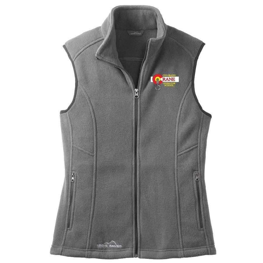 Eddie Bauer Eddie Bauer Ladies Fleece Vest (Grey Steel)