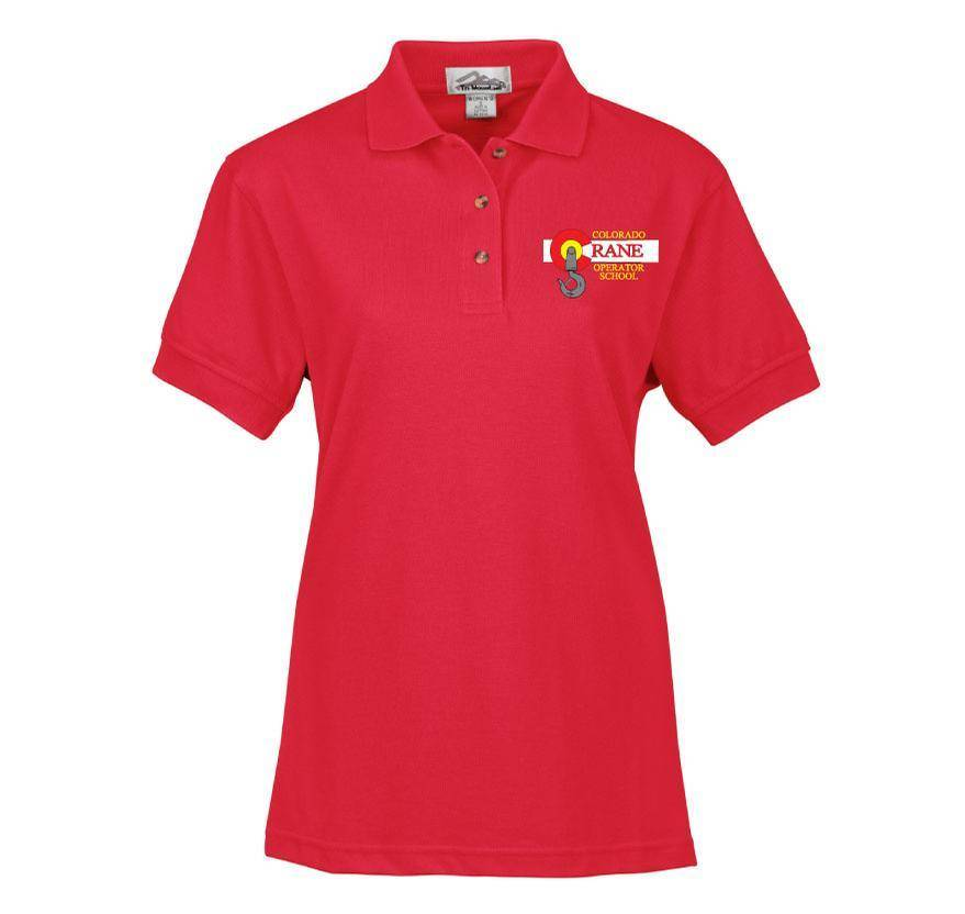 Tri Mountain Tri Mountain Ladies Artisan Polo (Red)