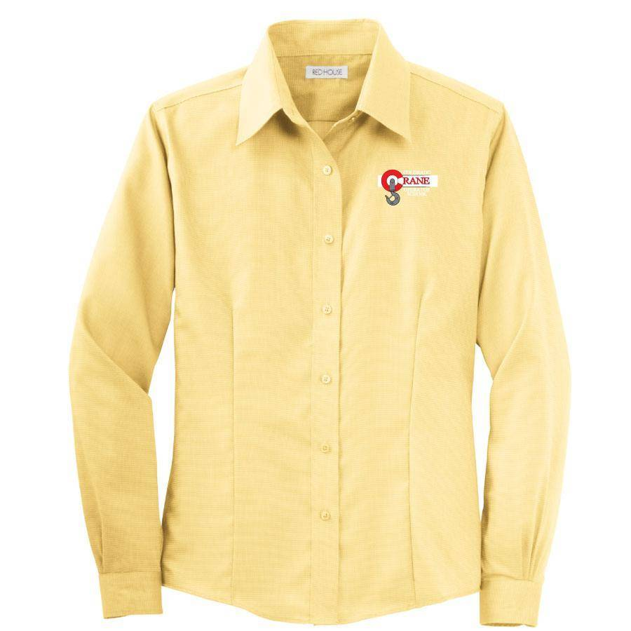 Red House Red House Ladies Button Shirt (Yellow)