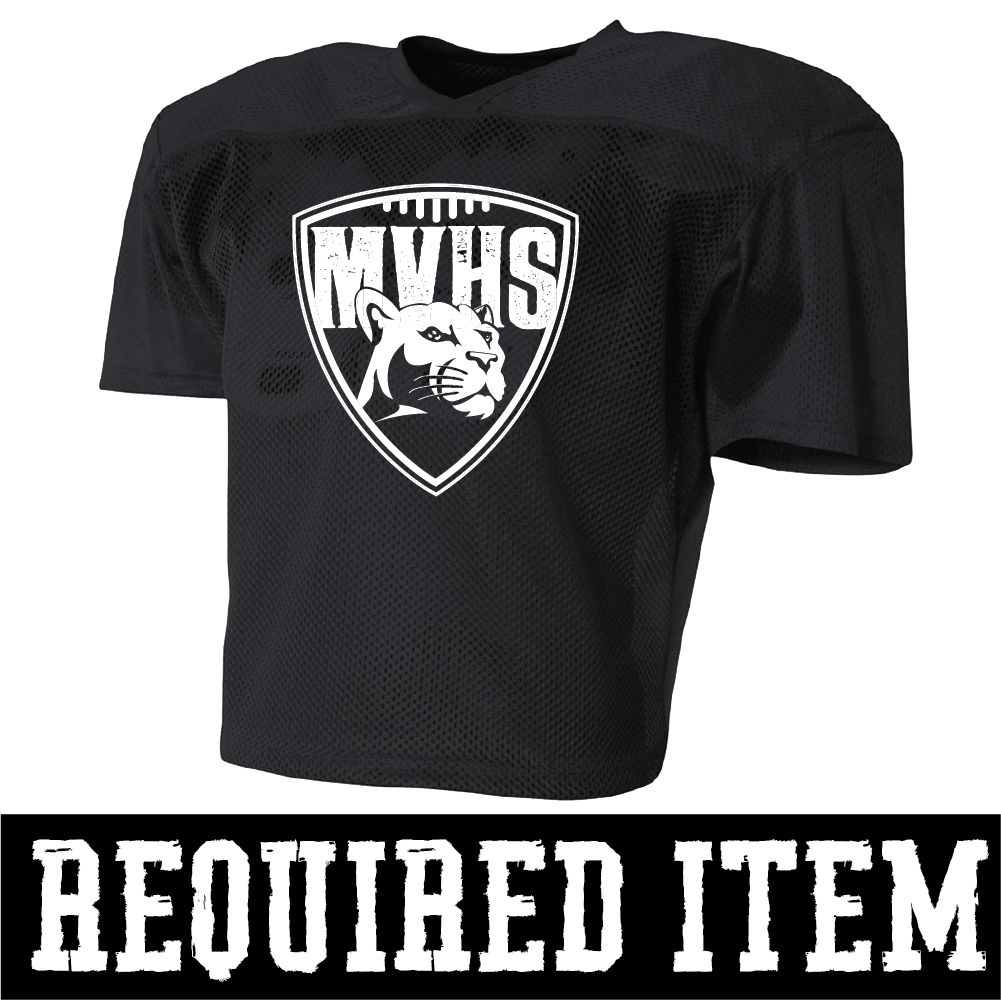 A4 Football Practice Jersey MV Football (Black)