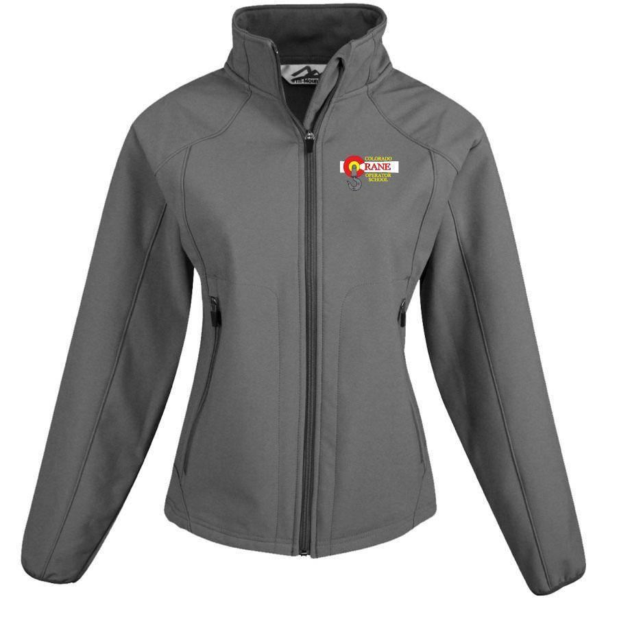 Tri Mountain Tri Mountain Ladies Ascent Jacket (Charcoal)
