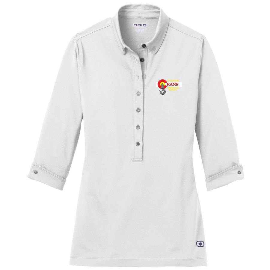 Ogio Ogio Ladies Gauge Polo (White)