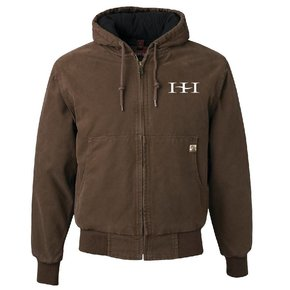 Dri Duck DRI DUCK - Cheyenne Hooded Boulder Cloth™ Jacket (Tobacco)