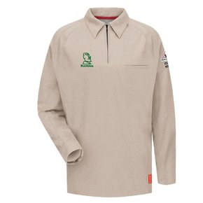 Bulwark Bulwark iQ Series® Long Sleeve Polo (Tan)