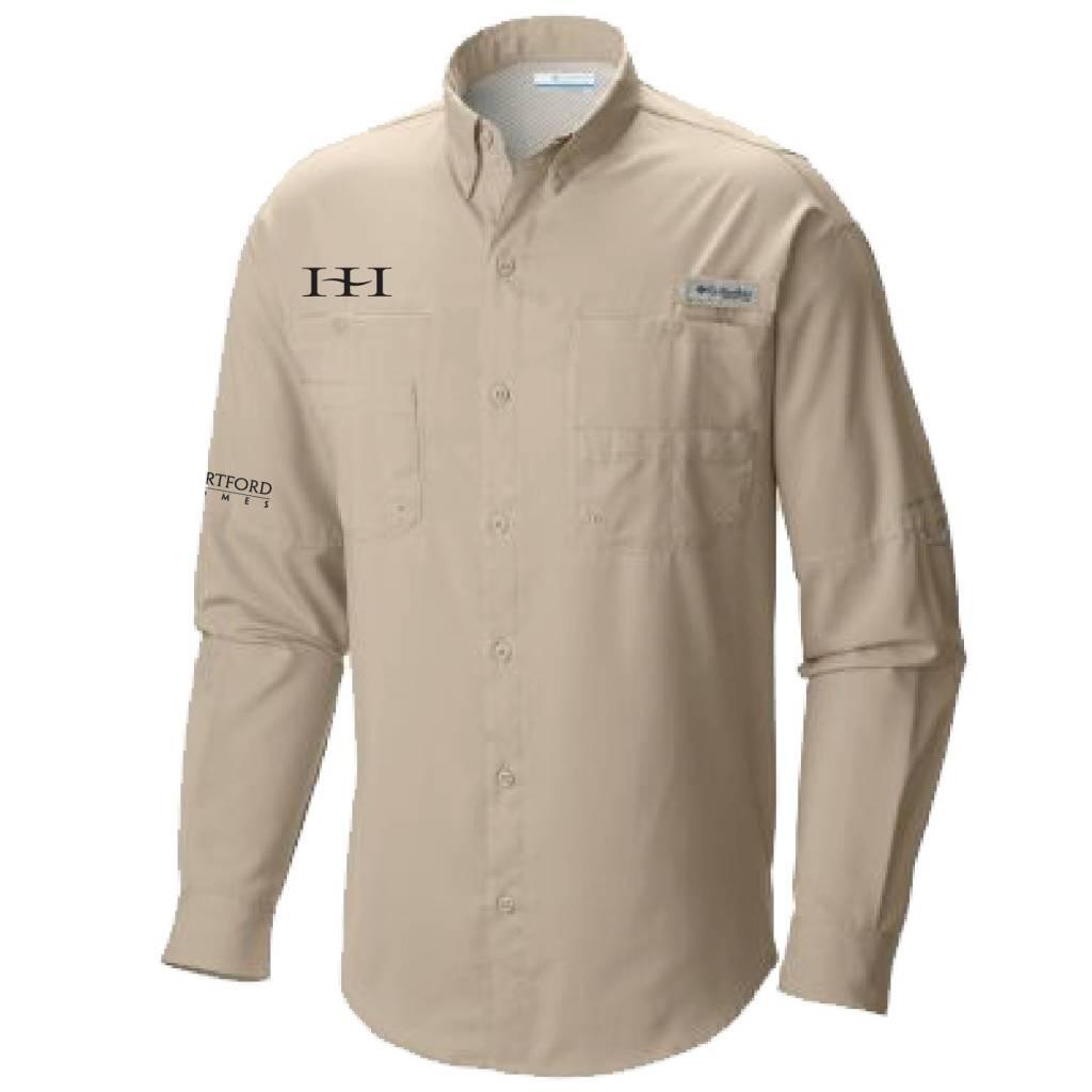 Columbia Columbia Men's - Bahama™ II Long Sleeve Shirt (Fossil)