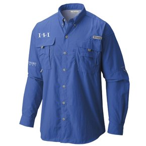 Columbia Columbia Men's  - Bahama™ II Long Sleeve Shirt (Vivid Blue)