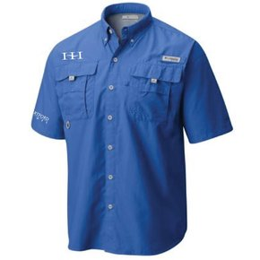 Columbia Columbia Men's - Bahama™ II Short Sleeve Shirt (Vivid Blue)
