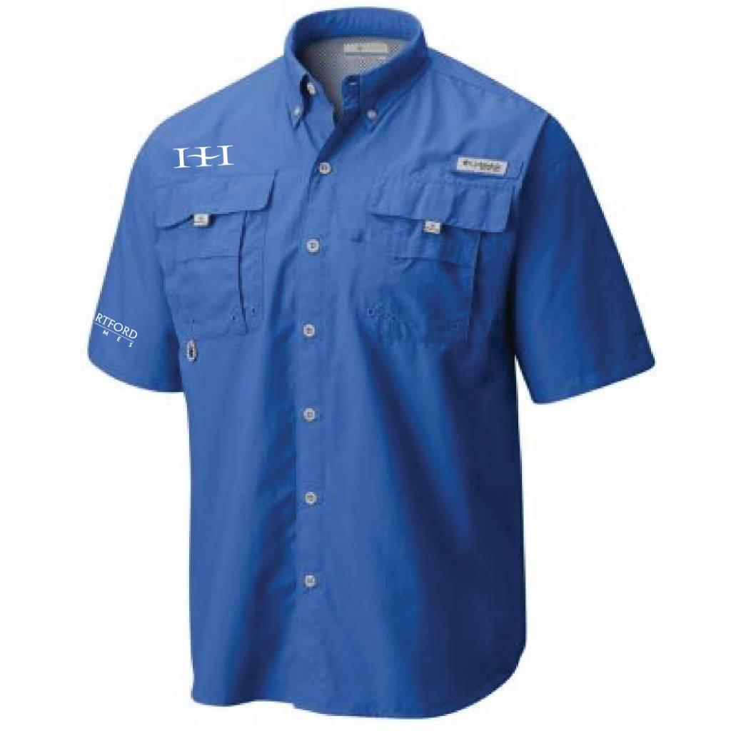 Columbia Columbia Men's - Bahama™ II Short Sleeve Shirt (Vivid Blue)