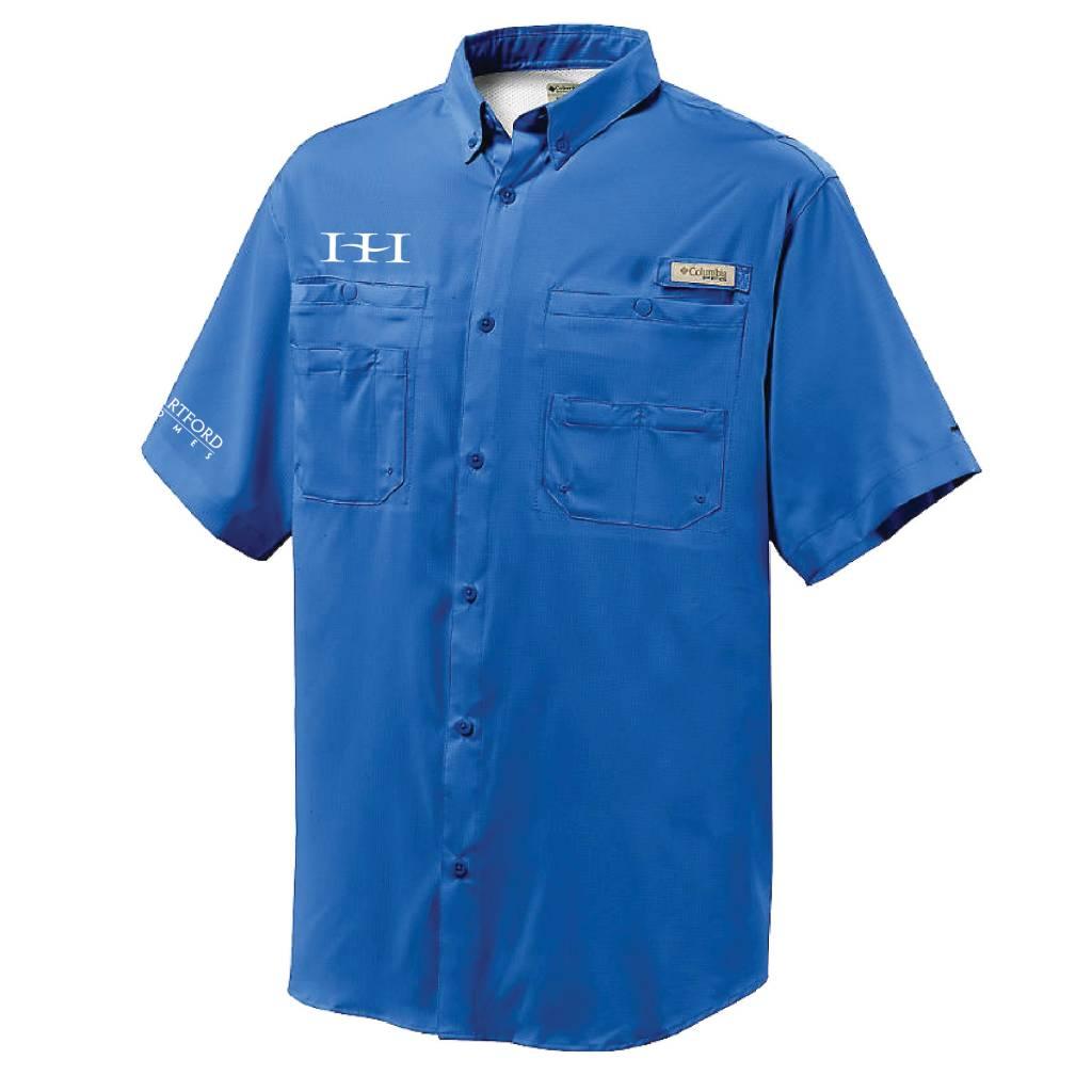 Columbia Columbia Mens' - Tamiami™ II Short-Sleeve Shirt (Vivid Blue)