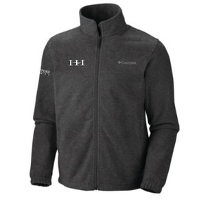 Columbia Columbia Men's  Full-Zip Fleece Jacket (Charcoal)