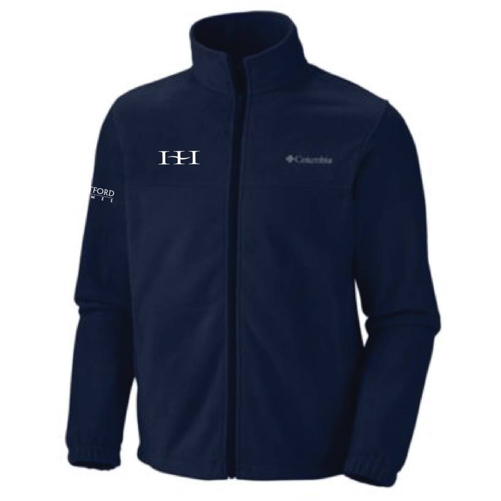 Columbia Columbia Men's  Full-Zip  Fleece Jacket (Collegiate Navy)