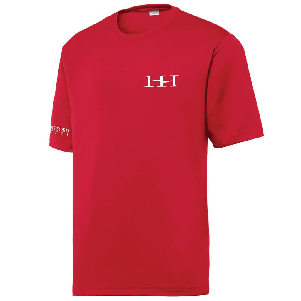 Sport Tek Sport-Tek® PosiCharge® Tough Tee™ (Deep Red)