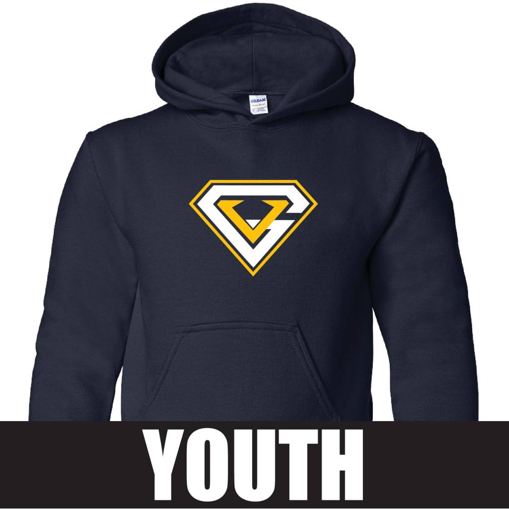 Gildan Gildan Heavy Blend Youth Hooded Sweatshirt (Navy)