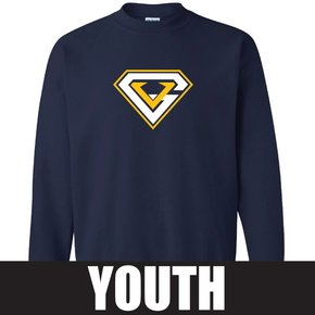 Gildan Gildan Heavy Blend Youth Fleece Crew (Navy)