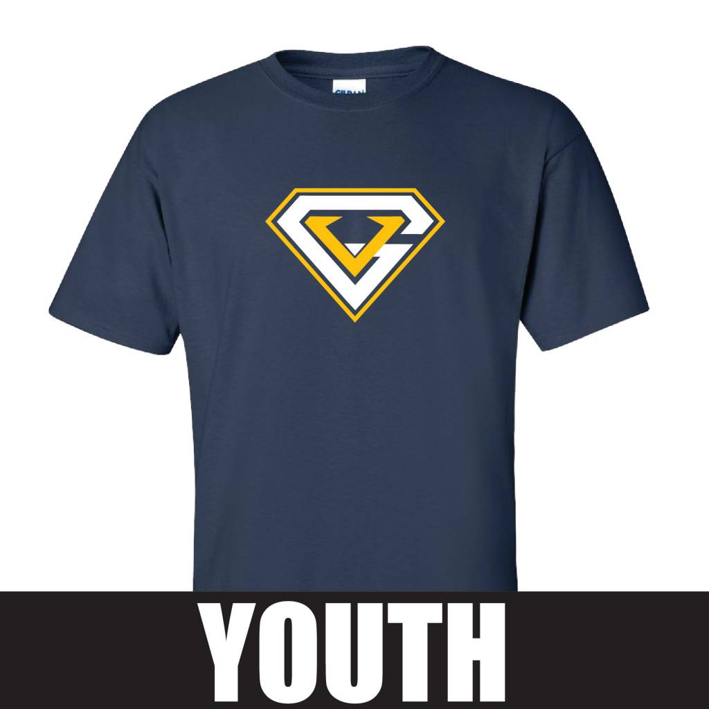 Gildan Gildan Ultra Cotton Youth T-Shirt (Navy)