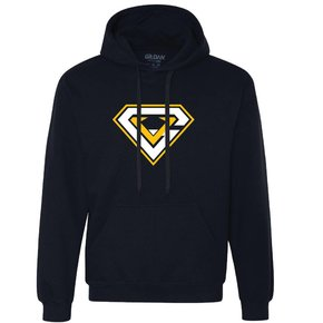 Gildan Gildan Premium Cotton Ringspun Hooded Sweatshirt (Navy)