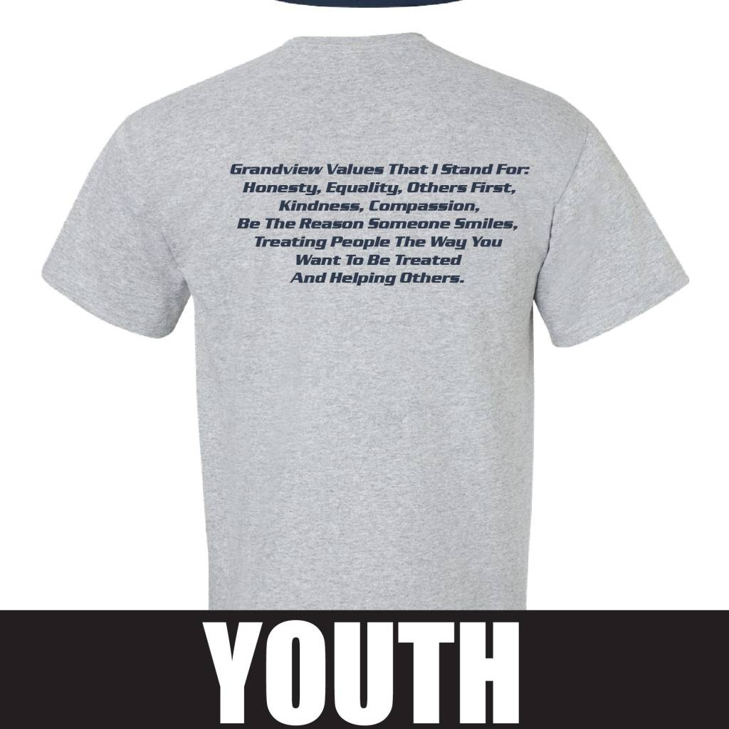 Gildan Gildan Ultra Cotton Youth T-Shirt (Sport Grey)
