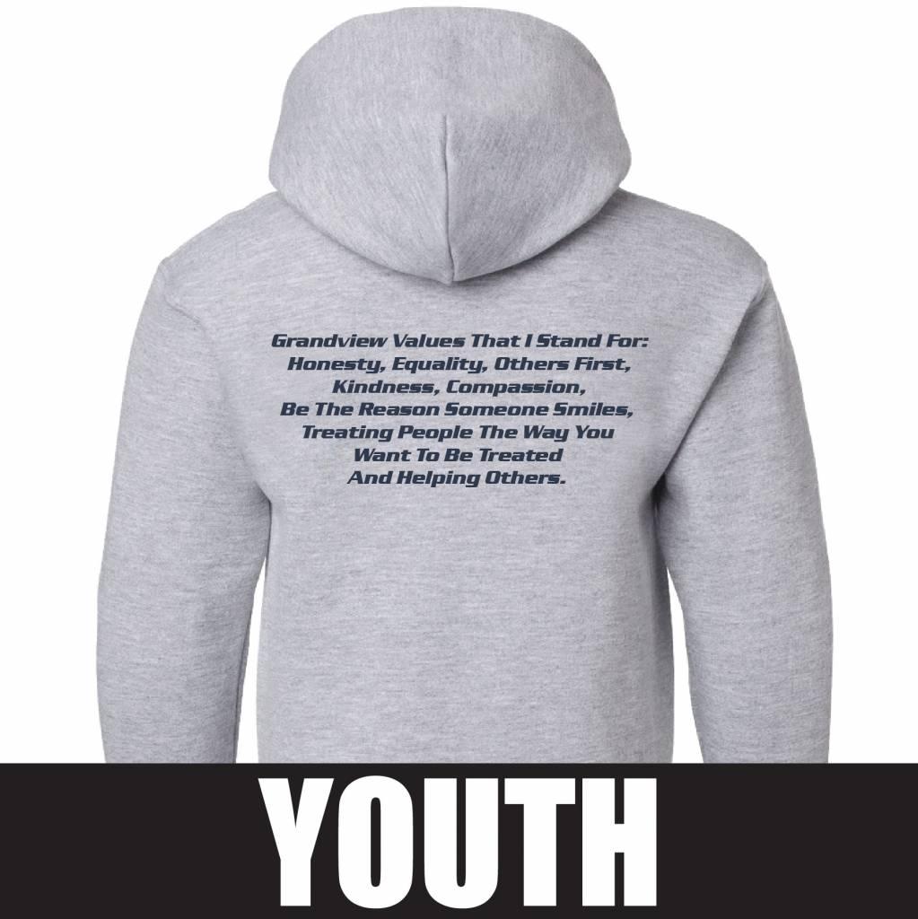 Gildan Gildan Heavy Blend Youth Hoodie (Sport Grey)