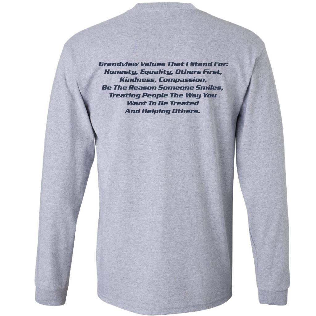 Gildan Gildan Ultra Cotton Longsleeve T-Shirt (Sport Grey)