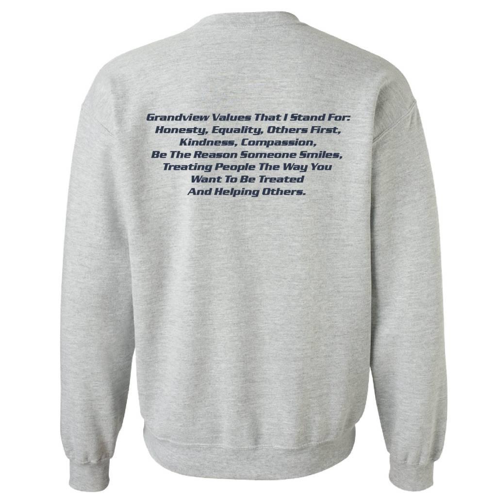 Gildan Gildan Heavy Blend Fleece Crew (Sport Grey)