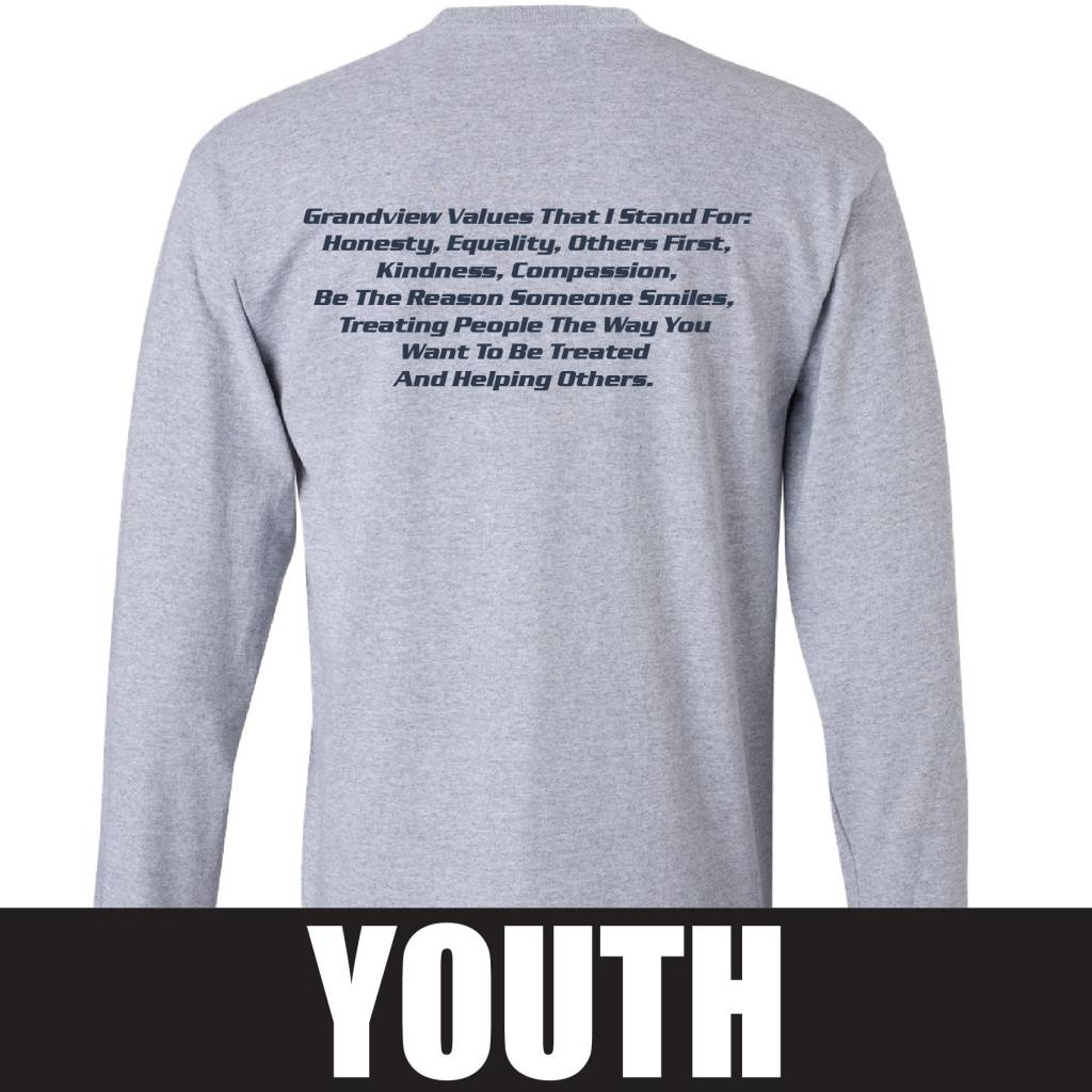 Gildan Gildan Ultra Cotton Youth Longsleeve T-Shirt (Sport Grey)