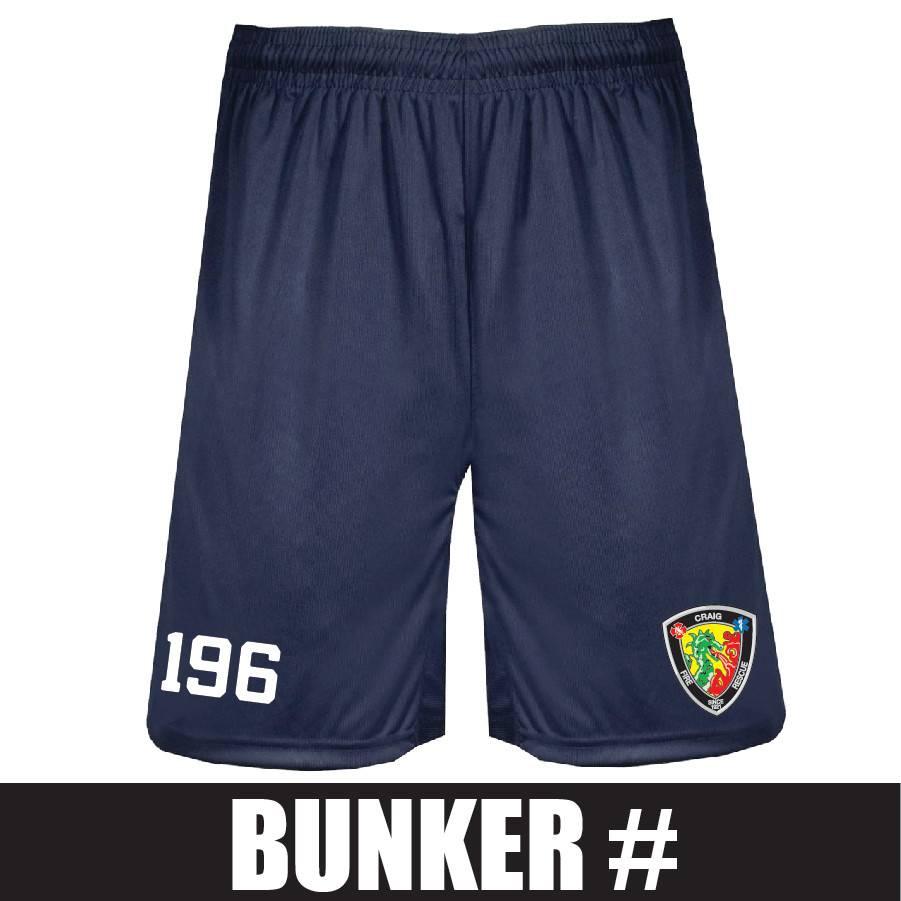Badger BT5 Trainer Short (Navy) Bunker Number
