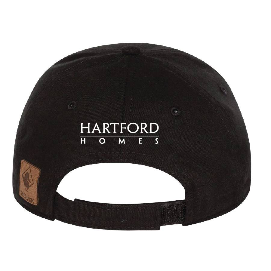 Dri Duck DRI DUCK - Heritage Brushed Twill Cap ( Black )