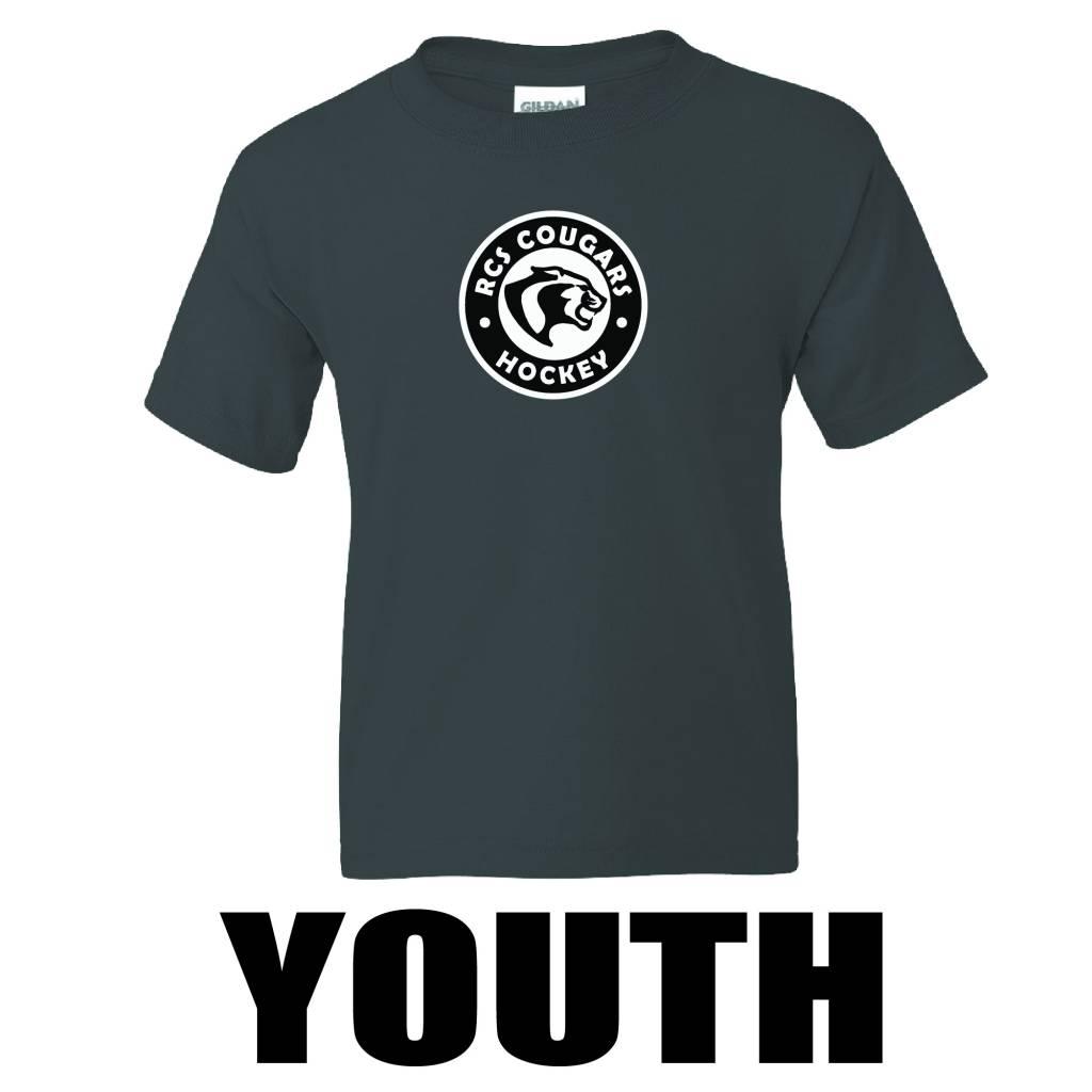 Gildan Gildan - DryBlend Youth 50/50 T-Shirt ( Black )