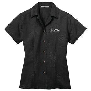 Port Authority Port Authority Ladies Camp Shirt (Black)