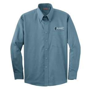 Red House Red House Nailhead Non-Iron Shirt (Teal Blue)