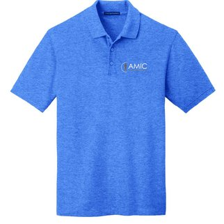 Port Authority Port Authority EZ Cotton Polo ( Blue Heather )