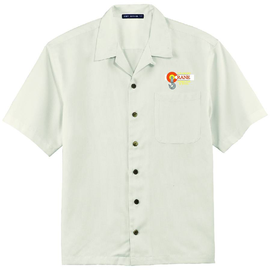 Port Authority Port Authority® Easy Care Camp Shirt ( Ivory )