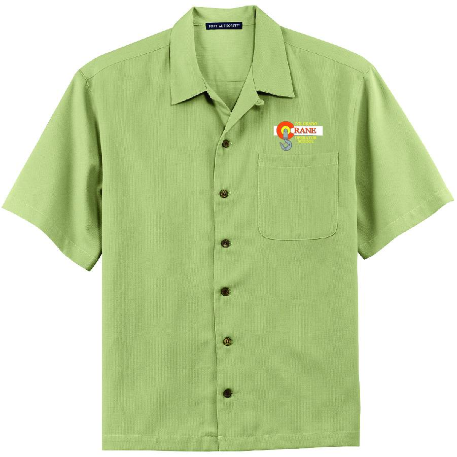 Port Authority Port Authority® Easy Care Camp Shirt ( Celery )