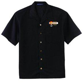 Port Authority Port Authority® Easy Care Camp Shirt ( Black )